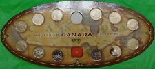1999 Canada Twelve Millennium Quarters Including Collector Card