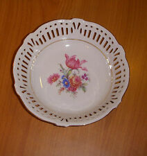 Open Work Floral Bowl Germany U.S. Zone