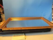 Vintage Brass Finished Mirror Vanity Tray 140