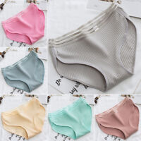 Women's Cotton Breathable Stretchy Underwear Panties Briefs Knickers Underpants