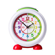 EasyRead Time Teacher Children's Alarm Clock Rainbow Past & To. erac-col-pt