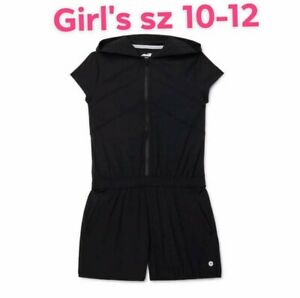 AVIA Girl's size L(10-12) SPORT ROMPER Hooded ZIP-UP ~ New with Tags