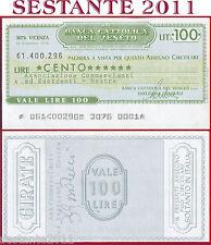BANCA CATTOLICA DEL VENETO Lire 100 14.12. 1976 ASSOC. COMMERCIANTI MESTRE B46