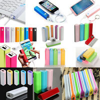 Portable External USB  Backup Battery Charger Power Bank case For Mobile Phone