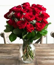 Flowers - Two Dozen Red Roses