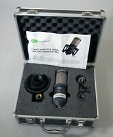 Kel Audio Hm-1x Cardioid Condenser Mic w/ Shockmount and Case