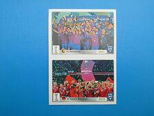 PANINI FIFA 365 - N. 25-26 FC Barcelona 2011 - FC Bayern München 2013