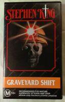 Graveyard Shift VHS 1990 Horror Ralph S. Singleton Stephen King 1995 Time-Life