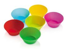 "Zeal Bake & Serve Standard Silicone 3"" Muffin / Cupcake Cups / Cases - Set of 6"