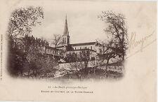 CPA -24-  LA ROCHE-CHALAIS - Eglise et Couvent.