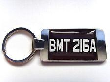 JAMES BOND 007 CAR NUMBER PLATE KEY FOB KEYFOB KEYRING GIFT