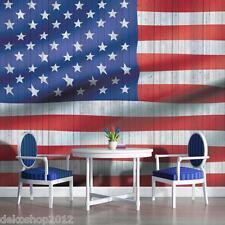 FOTOTAPETEN FOTOTAPETE TAPETEN TAPETE POSTER USA AMERIKA FAHNE FLAGGE 1108  P4