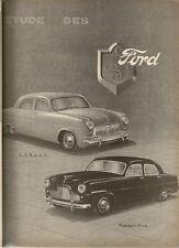 REVUE TECHNIQUE AUTOMOBILE 98 RTA 1954 ETUDE FORD ZEPHYR CONSUL TRACTEUR FARMALL