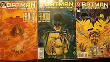 Batman Legends of the Dark Knight 91 92 93 Set Freakout Garth Ennis