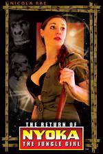 RETURN OF NYOKA THE JUNGLE GIRL DVD COLOR! NEW! GORILLA