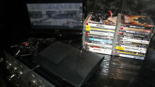 PS3 SUPER SLIM CONSOLE 12GB FLASH STORAGE LARGE GAMES BUNDLE 2 PADS AND CAMERA