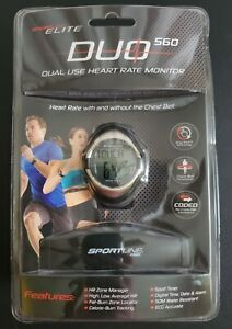 Sportline Elite DUO560 Dual Use Heart Rate Monitor w/optional Chestbelt Included