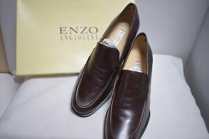 Enzo YO ADORING3 Brown Calf Leather  Womens Shoes  NIB Size US 7 M  (1020)