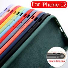 Liquid Funda de silicona cubierta suave para iPhone 13 12 Pro Max 11 SE 2 XR XS 8 7 Plus