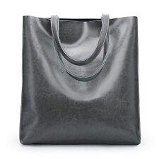 New Women Genuine Cowhide Real Leather Shoulder Bag Tote Bags Handbag Pad Purse