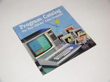 TANDY trs-80 colore Computer ~ Program catalogo