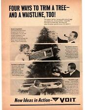 1967 Voit Basketball Pipe Exercise Equipment Golf Clubs Christmas Gifts Print Ad