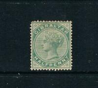 Gibraltar - 1886-87 - ½d QV Portrait - SC 8 [SG 8] Mint 20
