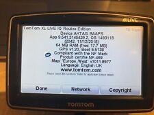 TomTom XL LIVE IQ Route Sat Nav Automotive GPS Reciever