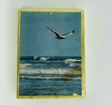Vintage Antioch Bookplate Company 49 Labels Beach Sea Gull Ocean
