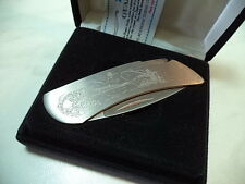 ZIPPO COLTELLO KNIFE DA COLLEZIONE MODELLO ZIP-7230 IL PESCATORE FISCHERMAN NEW