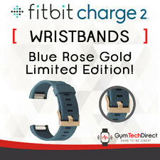 Fitbit Charge 2 Blue Rose Gold Replacement Wristband Accessory!