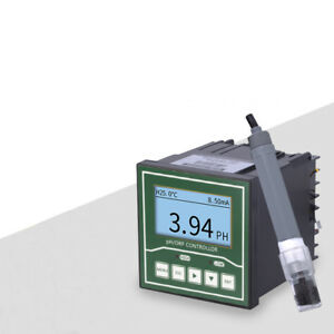 Industrial Online PH ORP Controller Meter Monitor With 5m Composite Electrode