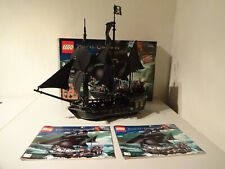 (GO) LEGO 4184 The Black Pearl  Pirates of the Caribbean MIT OVP & BA GEBRAUCHT
