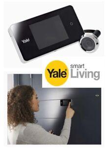 """YALE DDV500 SPIONCINO DIGITALE LCD 3,2"""" VISORE ELETTRONICO Spessore da 38-110mm"""