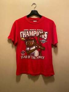 Los Angeles Angels 2000 Anaheim Angels World Series Year Of The Monkey Tee