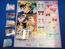 BANDAI Sailor Moon Earphone Charm Gashapon Comp 5set Japan