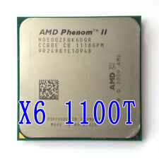 AMD Phenom II X6 1100T Black Edition HDE00ZFBK6DGR 3.33GHz AM3 Unlocked 125W CPU