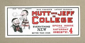 Mutt and Jeff in College 1920 VF 8.0