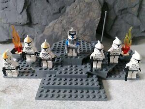 Lego star wars Figuren Clone Phase1/Captain Rex/Clone pilot Auswählen
