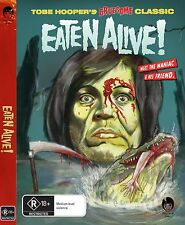 Eaten Alive - DVD Cult Horror Tobe Hooper Rober Englund (tons of extras)