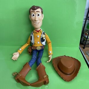 Toy Story Talking Woody Think Way with hat