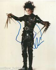 Johnny Depp Edward Scissorhands Signed Autographed 8x10 Photo COA
