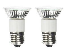 2-Bulbs 75 Watt E27 Replacement Bulb for Dacor or Zephyr Hoods 75W E26 120 Volt