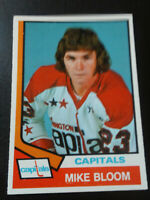 Mike Bloom-1974/75 Opee-chee Hockey-nr.mint/7-no.369-Capitals