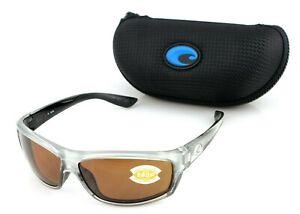 POLARIZED NEW Genuine COSTA Del Mar SALTBREAK 580P Copper Sunglasses BK 18 OCP