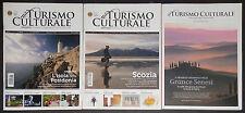 Il Turismo Culturale - Lotto 3 riviste di viaggi eventi città sapori Occasione!