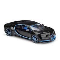 Maisto 1:24 Bugatti Chiron Black Diecast Model Racing Car Vehicle New in Box