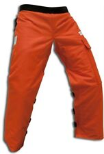 "FORESTER™ Orange Chainsaw Chaps 35"" Length (Short)     CHAP435-O"
