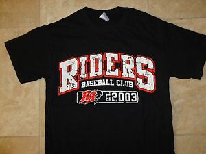 New Without Tags Black Frisco Rough Riders Minor League Baseball t-Shirt Adult S