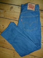 Levi's Jeans 511 Jeans Mens Blue Classic Fit Red Tab W34 L26 RRP £85 [134]